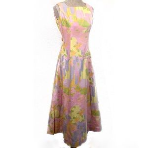 Gorgeous vintage 60's dress gown